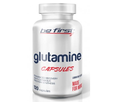 Be First Glutamine Capsules (120 кап)