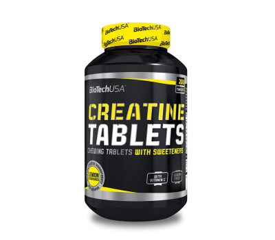 BT Creatine Chewing Tablets (200 таб)