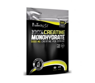 BT 100% Creatine Monohydrate пакет (500 гр)