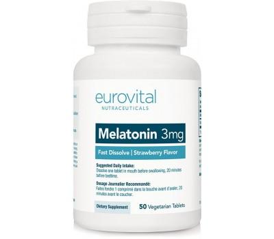 Eurovital Melatonin 3mg (50 таб)