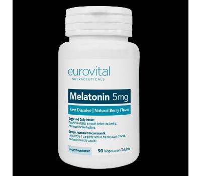 Eurovital Melatonin 5mg (90 таб)