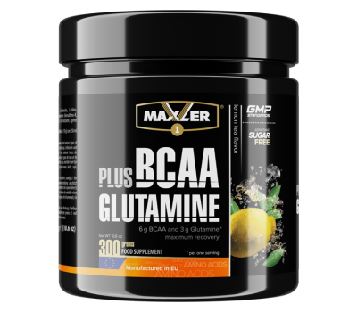 Maxler BCAA Plus Glutamine (300 гр)