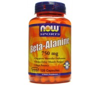 NOW Beta-Alanine 750 mg (120 кап)