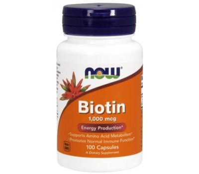 NOW Biotin 1mg (100 кап)