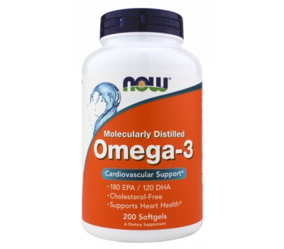 NOW Omega 3 (200 гел.кап)