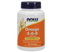 NOW Omega 3-6-9 1000mg (100 гел.кап)