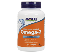 NOW Omega 3 (100 гел.кап)