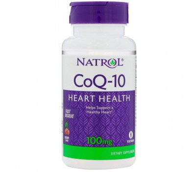 Natrol Coenzyme Q10 100 mg (60 кап)