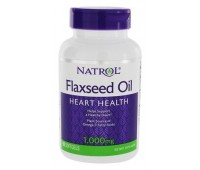 Natrol Flaxseed Oil 1000 mg (90 кап)