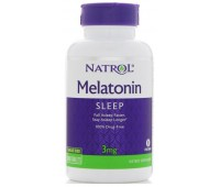 Natrol Melatonin 3 mg (60 таб)