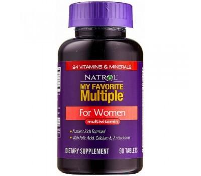 Natrol Multiple for Women (90 таб)