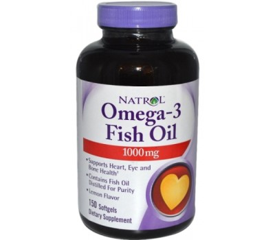 Natrol OMEGA-3 Fish Oil 1000 mg (150 гел.кап)