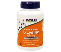 NOW L-Lysine 1000mg (100 таб)