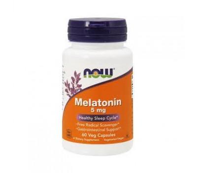 NOW Melatonin 5mg (60 кап)
