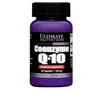 Ultimate Nutrition Coenzyme Q10 (30кап)