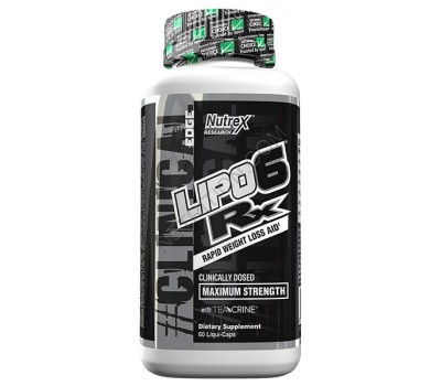 Nutrex Lipo 6 RX Clinical (60 кап)