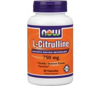 NOW L-Citrulline 750 mg (90 кап)