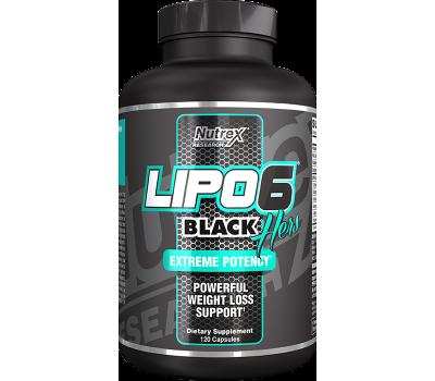 Nutrex Lipo-6 Black Hers NEW ( 120 кап)