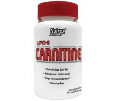 Nutrex Lipo 6 L-Carnitine (60 кап)