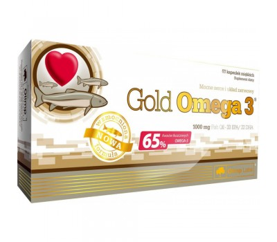 Olimp Gold Omega 3 1000mg (60 кап.)