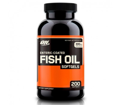 Optimum Nutrition Fish Oil (200 кап)