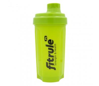Шейкер FitRule 700ml - Зеленый с черным лого
