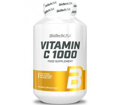 BioTech Vitamin C 1000 100 tabs