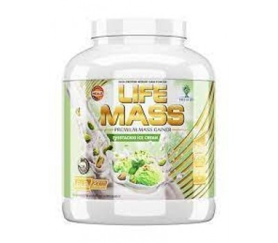 Life MASS 6lb Pistachio ice cream (Фисташковое мороженое)