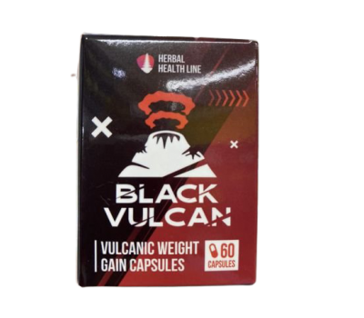 Black Vulcan 60 caps (для набора веса)