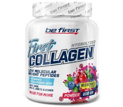 Be First Collagen + hyaluronic acid + vitamin C 200g (Лесные ягоды)