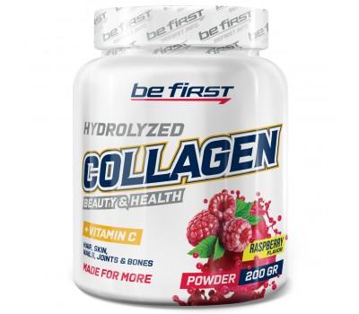Be First Collagen + vitamin C 200g (Малина)