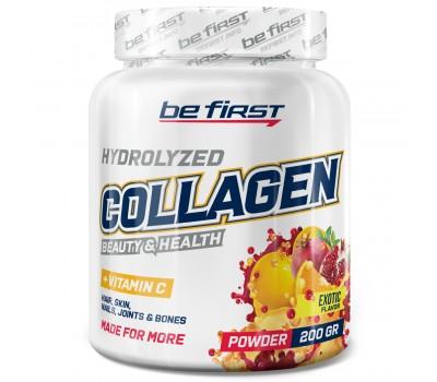 Be First Collagen + vitamin C 200g (Экзотик)