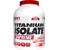SAN Titanium Isolate Supreme 2 lb (903g) (Strawberry Yogurt)