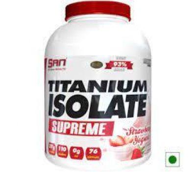 SAN Titanium Isolate Supreme 5 lb (Strawberry Yogurt)