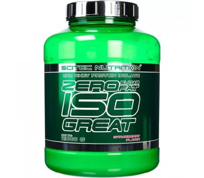 Scitec Nutrition Zero Isogreat 2300g (strawberry)