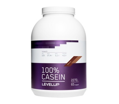 Level Up 100% Casein 2270 г (Орех-Шоколад)