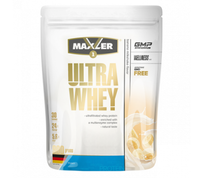 Maxler Ultra Whey 900g (Banana Milkshake)