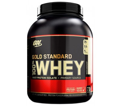 ON 100% Whey Gold standard 5lb (White chocolate)