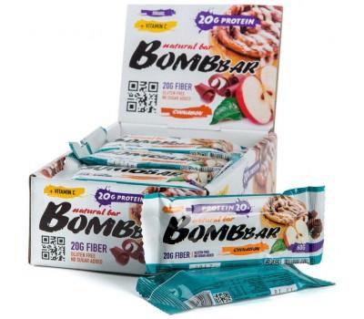 BombBar протеиновый батончик 60 г 1шт (Яблоко-корица)