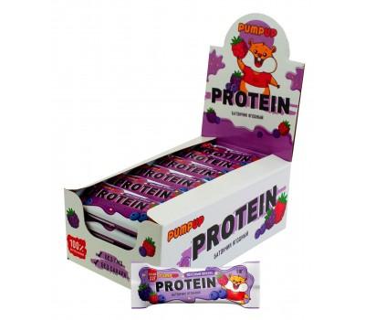 PUMP UP protein bar 22г белка 1 шт (Ягодный)