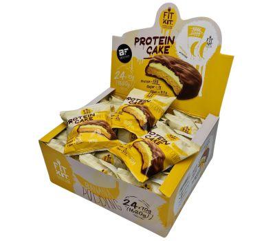 Fit Kit Protein Cake 70g 1шт (Банановый пудинг)
