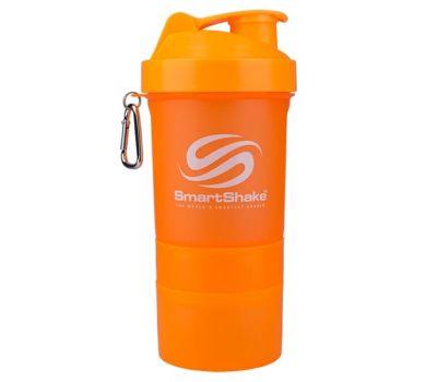 Шейкер SmartShake 400ml (Neon Orange)