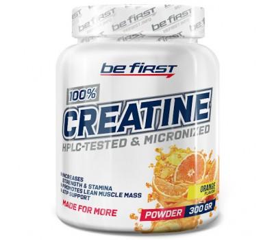 Be First Creatine powder 300g (Апельсин)