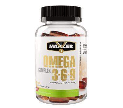 Maxler Omega 3-6-9 Сomplex 90 caps
