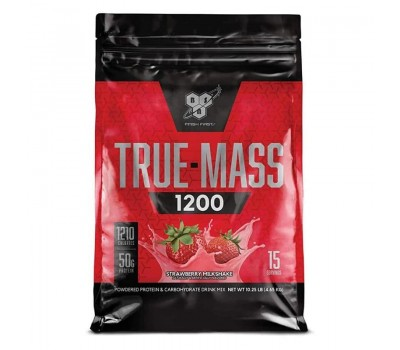 BSN True Mass 1200 (4710g) (Клубничный молочный коктейль)