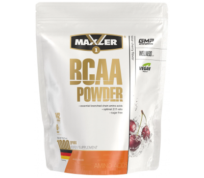 Maxler BCAA Powder 2:1:1 - 1000g (Sour Cherry)