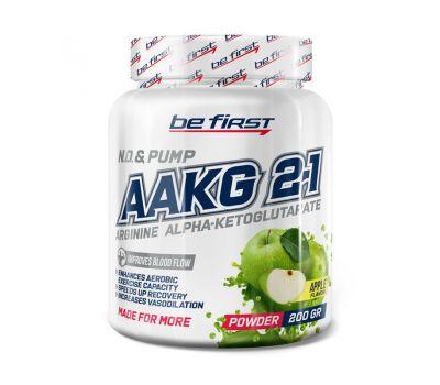 Be First AAKG powder 200g (Яблоко)