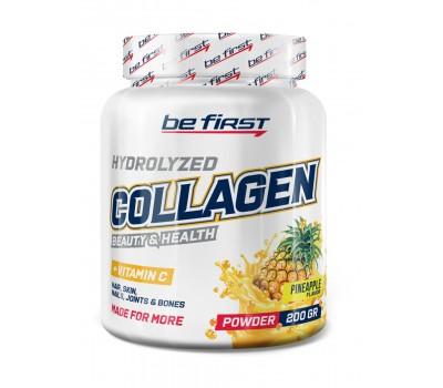 Be First Collagen + vitamin C 200g (ананас)