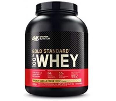 ON 100% Whey Gold standard 5lb (French Vanilla Creme)