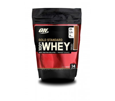 ON 100% Whey Gold standard 1lb (Double Rich Chocolate)
